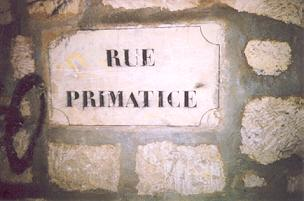 plaque indicative de rue